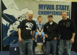 WMP wrestlers medal at state