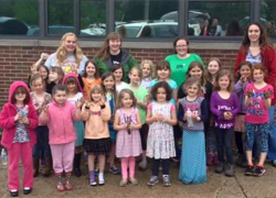 Girl Scouts beautify Hilltop grounds