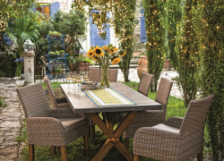 Design an outdoor room for all to enjoy