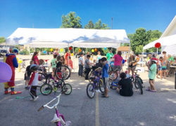 Event connects kids with bikes