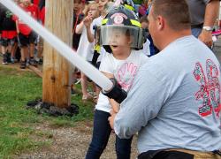 Kindergarteners check out Cedar Springs