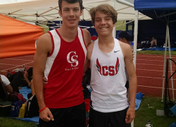 Two Red Hawks compete at state track finals