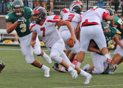 Red Hawks battle it out with Zeeland West
