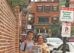 The Post travels to Boston