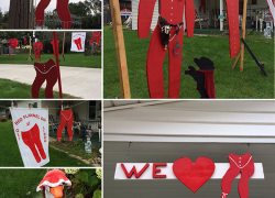 Red Flannel decoration contest