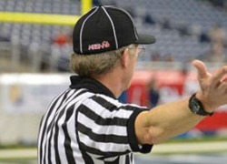 Be the Referee:Covering the knees