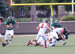 Red Hawks lose close game to Zeeland West