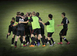 Soccer team pulls out victory as ONE