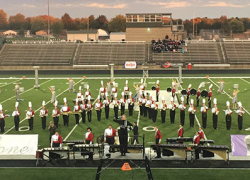 Marching band places 3rd at invitational