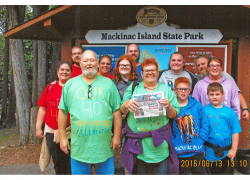 The Post travels to Mackinac Island State Park