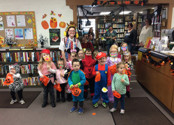 Halloween fun at the library