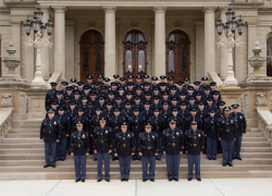 130th Trooper recruit school graduates