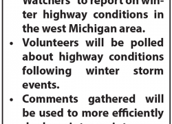 MDOT lookingfor road watchers during wintry commutes