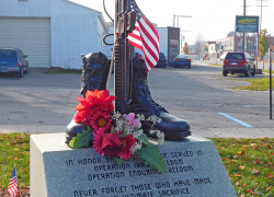 Year in Review: Veteran's memorial stolen and then recovered