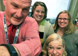 Teachers interviewed on GVSU radio show