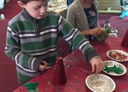 Santa's Elves Busy in the Workshop