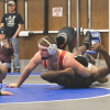 Red Hawk wrestlers win against FHN