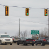 New left turn signals at 17 Mile and White Creek