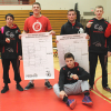 Two Red Hawks wrestlers district champs