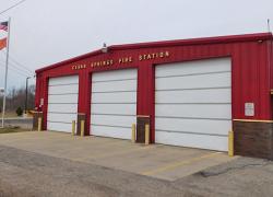 Cedar Springs Fire barn: will it stay or will it move?