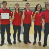 Red bowlers take second in conference
