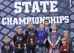 CS Youth wrestlers compete at State finals