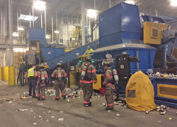 Propane tanks cause explosion at recycling center