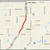 US-131 reconstruction in 2018