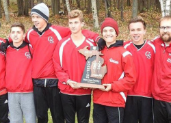 Boys cross country team wins regionals, heads to state