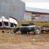 Crash sends two to hospital