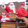 Santa stops in Cedar Springs