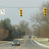 New traffic light at M-57 and Myers Lake