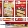 Various Duncan Hines cake mixes recalled