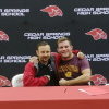 Ringler signs  letter of intent to wrestle for CMU