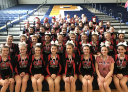 Cedar Springs Competitive Cheer sweeps Portage Central invitational