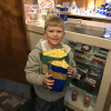 First Graders celebrate library card drive