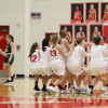 Girls basketball wins semi-final, ends season at Districts