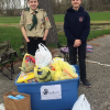 Boys collect food donations for Hand2Hand Ministries