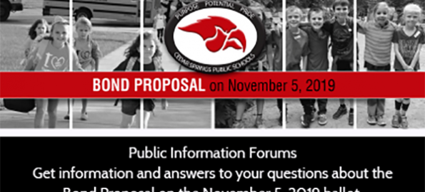 Get questions answered on school bond proposal
