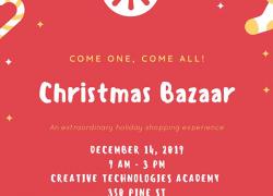 Christmas Bazaar at CTA