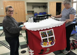 Quilting, sewing and crafting at the library