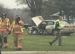 Man dies after car crash