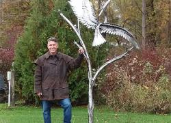 New sculpture set in city park