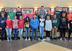 Middle School Students of the Month – October 2019
