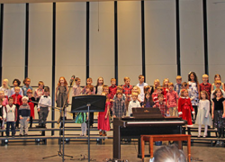 Elementary Concert Students Jingled All The Way