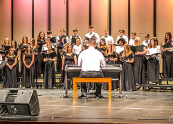 Middle School and High School Choirs Perform a Diverse Winter Concert
