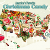 What is the top Christmas candy in Michigan?