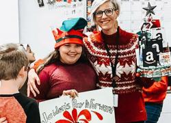 Cedar View student pays it forward