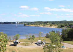 High water levels affect advance reservations at Muskegon campground