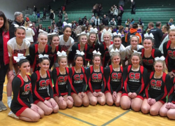 Cheer team takes second in Div. 2 at Jenison